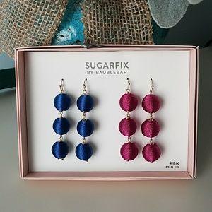 SUGARFIX EARRINGS 2 PAIR